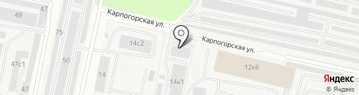 Корунд29 на карте Архангельска
