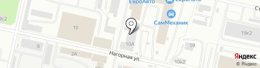 АвтоСтеклоСервис на карте Архангельска