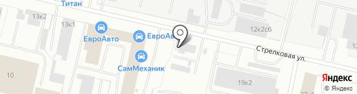 Шиномонтажная мастерская на карте Архангельска