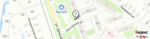 СОГИ на карте Архангельска