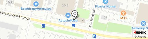Азимут на карте Архангельска