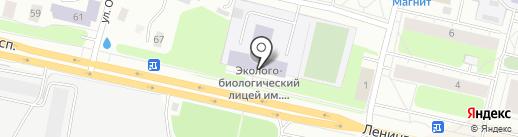 Эколого-биологический лицей на карте Архангельска