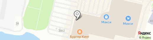 Недомино на карте Архангельска
