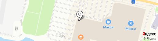 Буквоед на карте Архангельска