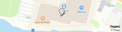 Mavi на карте Архангельска