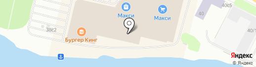 Детский мир на карте Архангельска