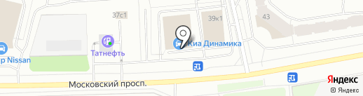Банкомат, Газпромбанк на карте Архангельска