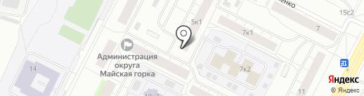 Жилфонд на карте Архангельска