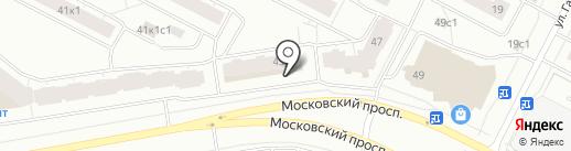 Винлаб на карте Архангельска