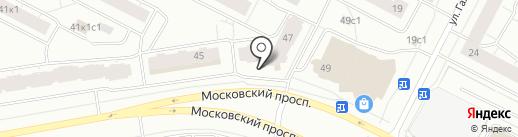 Мастерская по изготовлению ключей на карте Архангельска