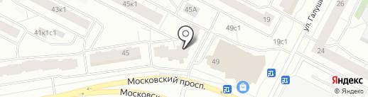 Флагман на карте Архангельска