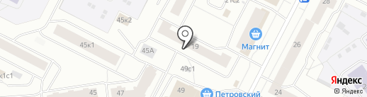 Парикмахерская на карте Архангельска