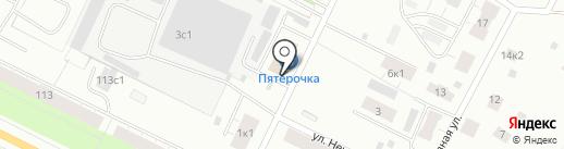 Пятёрочка на карте Архангельска