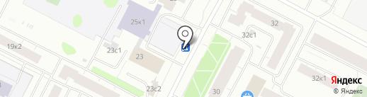 Фора на карте Архангельска
