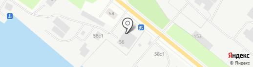 Лукьяныч на карте Архангельска