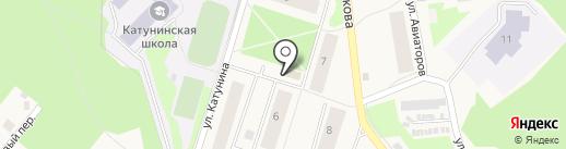 Банкомат, Сбербанк, ПАО на карте Катунино