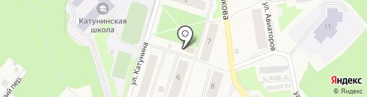 Банкомат, Северный банк Сбербанка России на карте Катунино