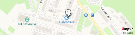 Банкомат, Минбанк, ПАО на карте Катунино