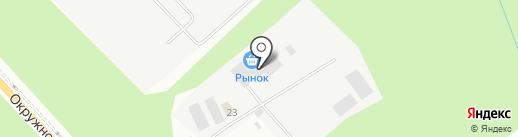 ВИД-Мебель на карте Архангельска