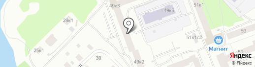 Ателье на Дачной на карте Архангельска