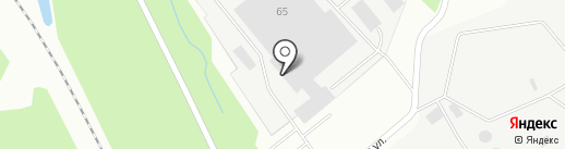Каравелла на карте Архангельска