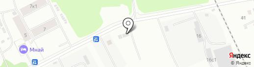 ЛАНСАДА на карте Архангельска