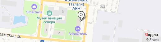 BarCloud на карте Архангельска
