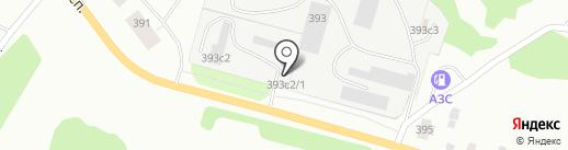 Автопомощь на карте Архангельска