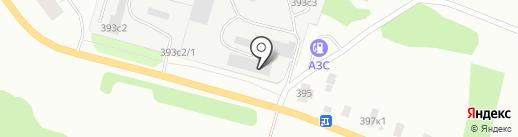 Генлион 29 на карте Архангельска