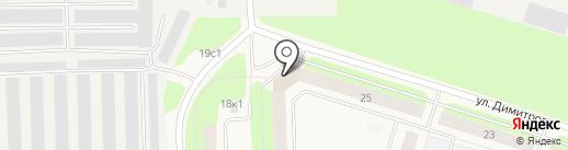 Платежный терминал, Мособлбанк, ПАО на карте Новодвинска
