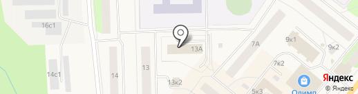 Банкомат, Северный банк Сбербанка России на карте Новодвинска