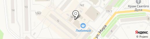 Эконом на карте Новодвинска