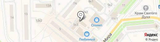 Irvis на карте Новодвинска