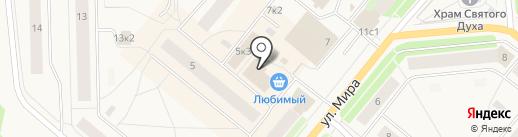 Винлаб на карте Новодвинска