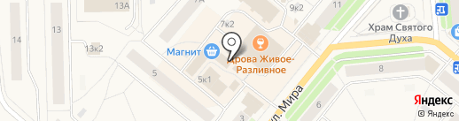 Продуктовый магазин на карте Новодвинска