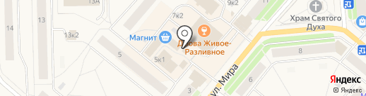 Архангельская рыбная компания на карте Новодвинска