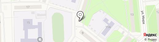 Новодвинская управляющая компания на карте Новодвинска