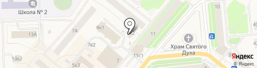 У Ивана на карте Новодвинска