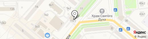 РосДеньги на карте Новодвинска