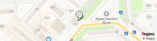 АрхГражданКредит на карте Новодвинска