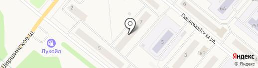 Ремонтно-эксплуатационное управление №2 на карте Новодвинска