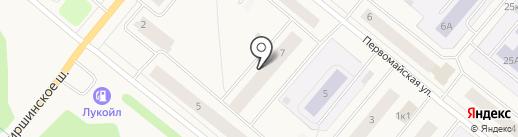 Отдел судебных приставов по г. Новодвинску на карте Новодвинска