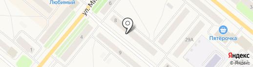 Территория успеха на карте Новодвинска