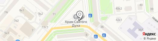 Иконная лавка на карте Новодвинска