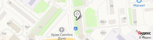 Удача на карте Новодвинска