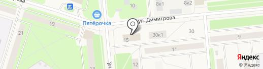 NovoParts на карте Новодвинска
