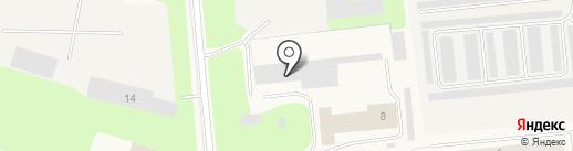 Пожарная часть №53 на карте Новодвинска