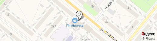 Юридический кабинет Матова А.И. на карте Новодвинска