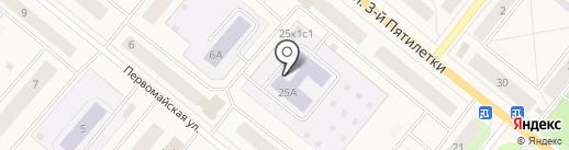 Детский сад №19, Цветик-Семицветик на карте Новодвинска