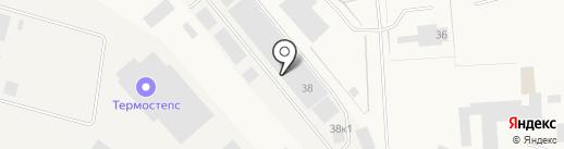 Куб Авто на карте Новодвинска